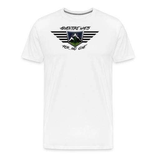 Adventure Waits for No One (Color) - Men's Premium T-Shirt