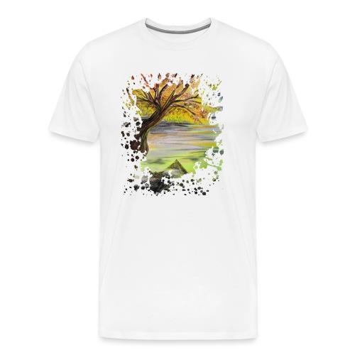 Over Looking Tree - Men's Premium T-Shirt