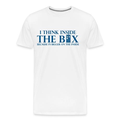 I Think Inside The Box - Men's Premium T-Shirt
