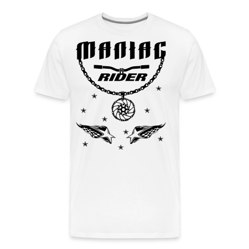 Maniac Rider Downhill Mountainbike bike-rider - Men's Premium T-Shirt