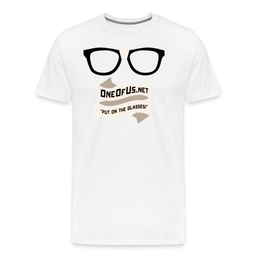 One of Us Nerd png - Men's Premium T-Shirt