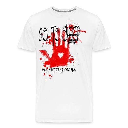 Go to sleep hoodie png - Men's Premium T-Shirt