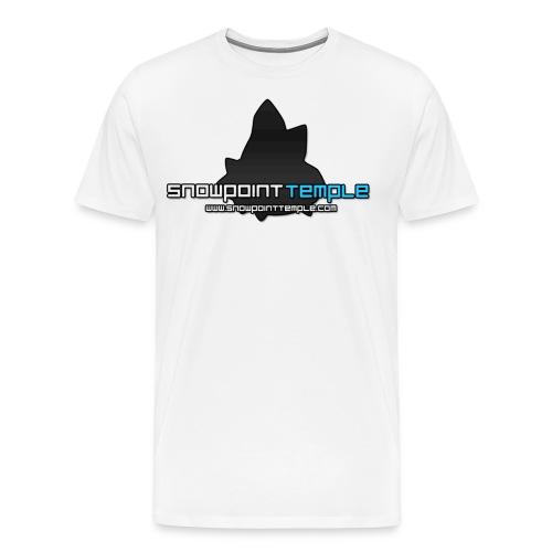 SPT Logo Large png - Men's Premium T-Shirt