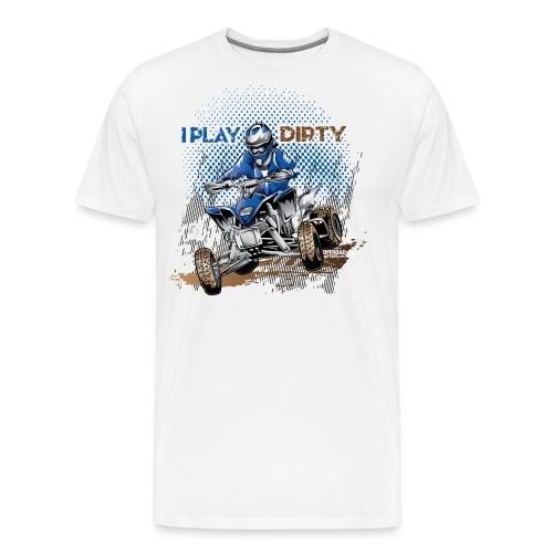 Dirty Quad Racer - Men's Premium T-Shirt