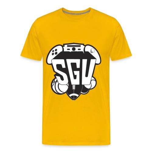 sgu new logo shirt bw - Men's Premium T-Shirt