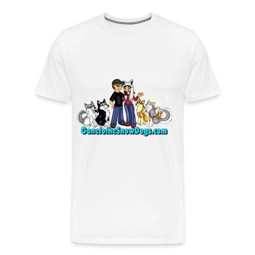 Snow Dogs Vlogs Logo - Men's Premium T-Shirt
