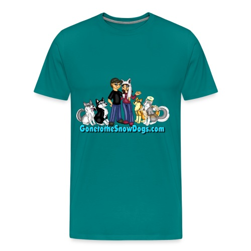 Snow Dogs Vlogs Logo - Men's Premium T-Shirt