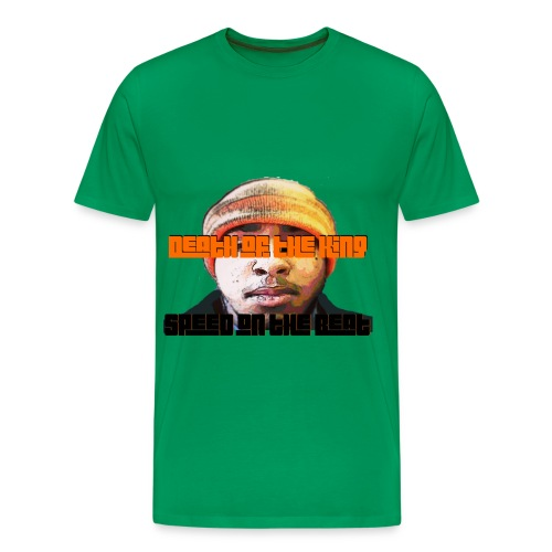 Speed on the Beat DOTK Face - Men's Premium T-Shirt