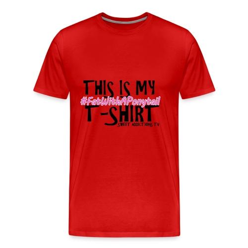 CandyT2text png - Men's Premium T-Shirt