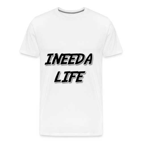 INEEDALIFE PROFILE PIC BI - Men's Premium T-Shirt