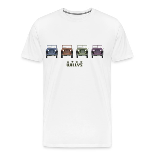 Willys Multicolor - Men's Premium T-Shirt