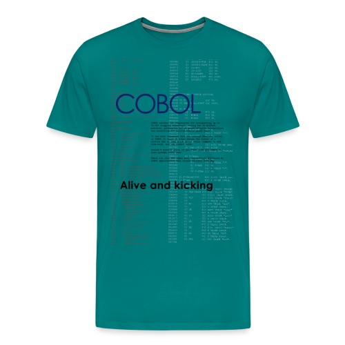 cobol2 - Men's Premium T-Shirt