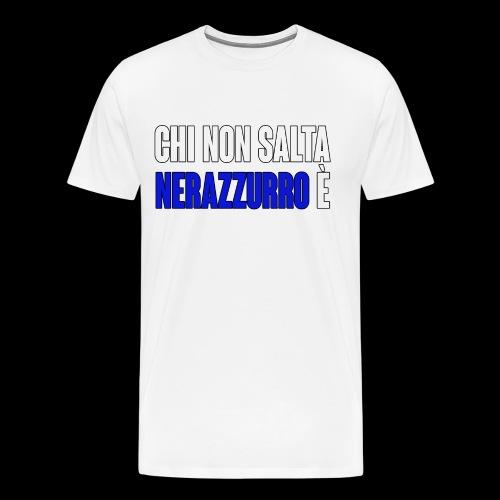 ChiNonSaltaNerazzurro - Men's Premium T-Shirt