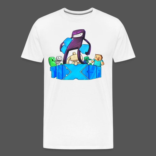 ThnxCya tshirt like an enderman by Jonas Nacef png - Men's Premium T-Shirt