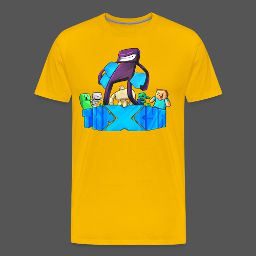 ThnxCya tshirt like an enderman by Jonas Nacef png - Men's Premium T-Shirt