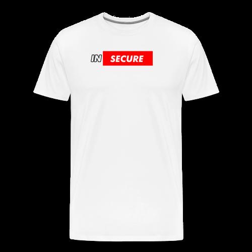 funny Insecure supreme like design - Men's Premium T-Shirt