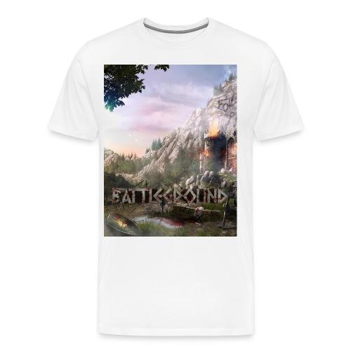battle poster v4 - Men's Premium T-Shirt