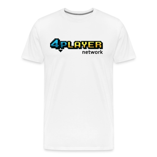 4PlayerNetwork Logo - Men's Premium T-Shirt