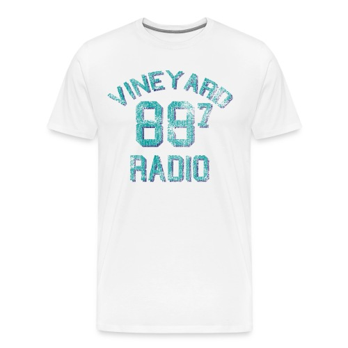 vineyardradio887 - Men's Premium T-Shirt