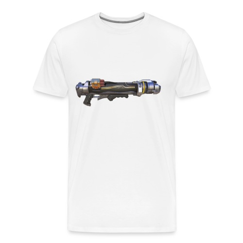 rocket gun - Men's Premium T-Shirt
