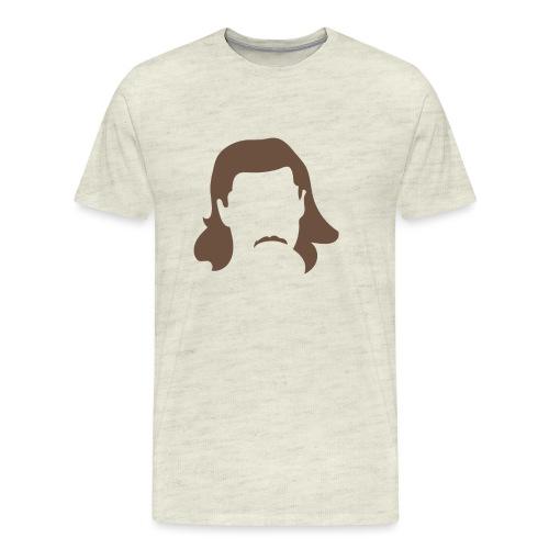 Keeping Karlsson Head Transparent brown - Men's Premium T-Shirt