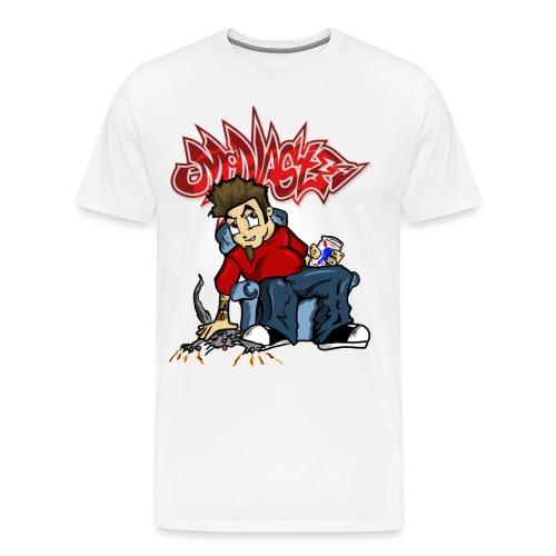McNastee I m Wrong Tee - Men's Premium T-Shirt