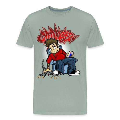 McNastee I m Wrong Tee - Men's Premium T-Shirt