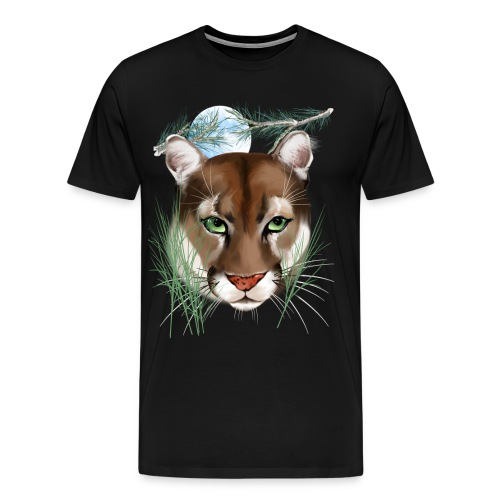 Midnight Puma - Men's Premium T-Shirt