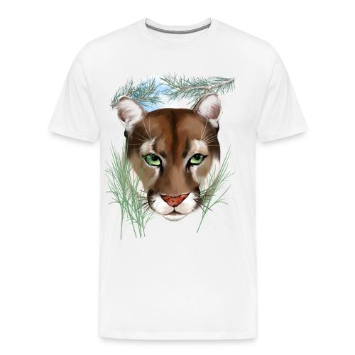 Midnight Puma - Men's Premium T-Shirt