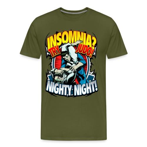 Insomnia Judo Design - Men's Premium T-Shirt