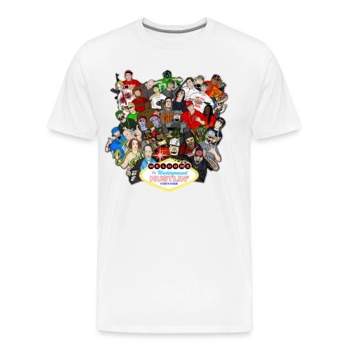 Underground Hustlin 44 cover tee - Men's Premium T-Shirt