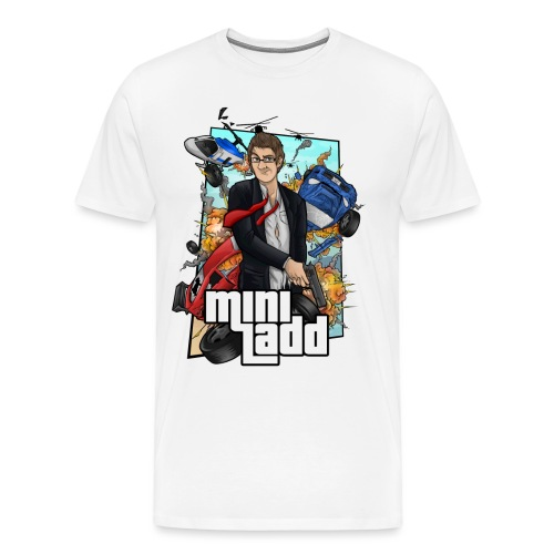 GTA Illustration png - Men's Premium T-Shirt