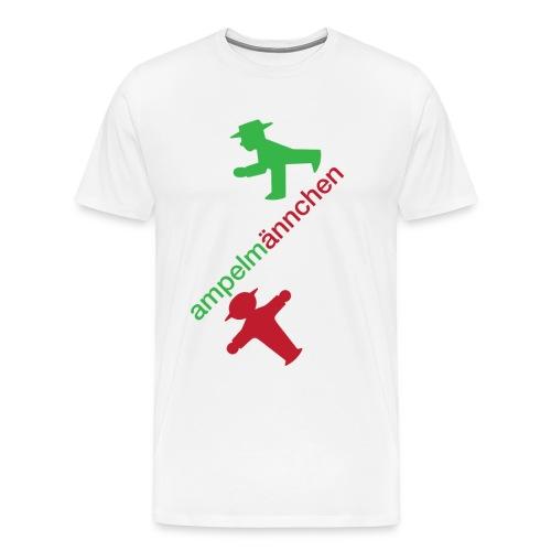 ampelmannchen - Men's Premium T-Shirt