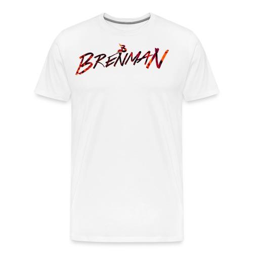 Brenman ''Abstract Logo'' T-Shirt - Men's Premium T-Shirt