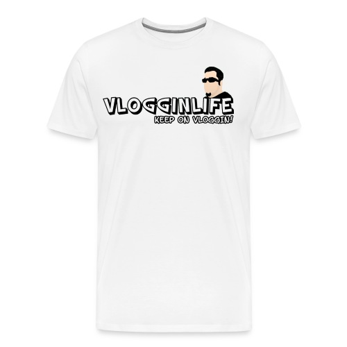 3XL/4XL Vlogginlife Hoodies - Men's Premium T-Shirt