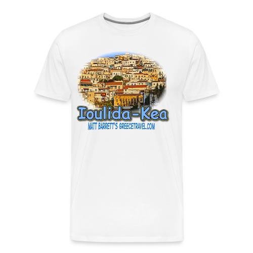 Ioulida Kea jpg - Men's Premium T-Shirt