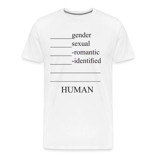 fill in the blank extended - Men's Premium T-Shirt