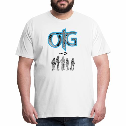 Urban OTG Design - Men's Premium T-Shirt