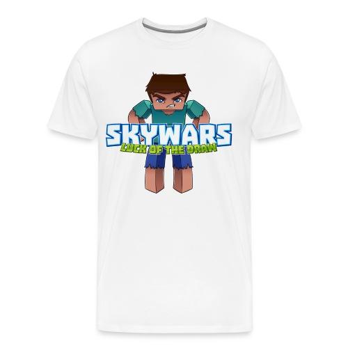 SKY with Text png - Men's Premium T-Shirt