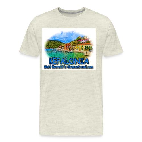 kefalonia1 jpg - Men's Premium T-Shirt
