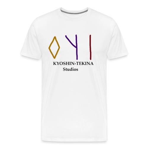 Kyoshin-Tekina Studios logo (black test) - Men's Premium T-Shirt