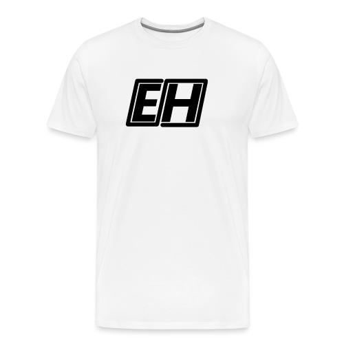 Everybody Hates Black Logo - Men's Premium T-Shirt