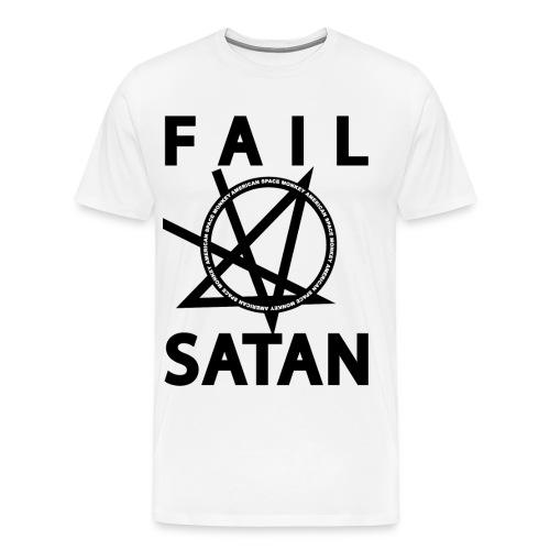 Zipping Fail Satan Hoodie - Men's Premium T-Shirt