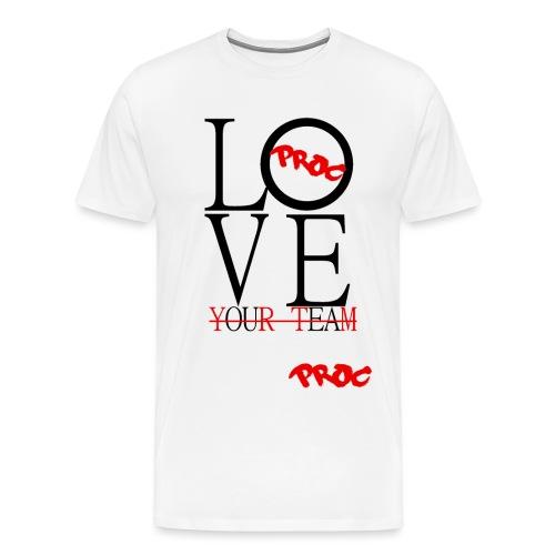 PROC LOVEbl gif - Men's Premium T-Shirt