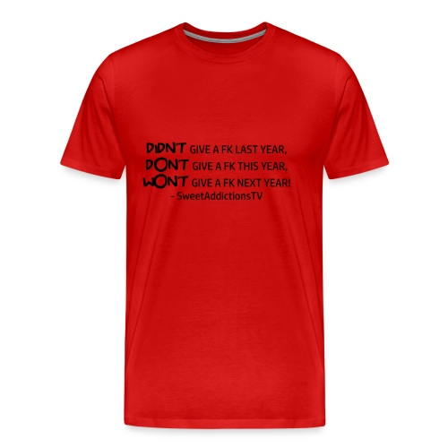 quote1copy png - Men's Premium T-Shirt