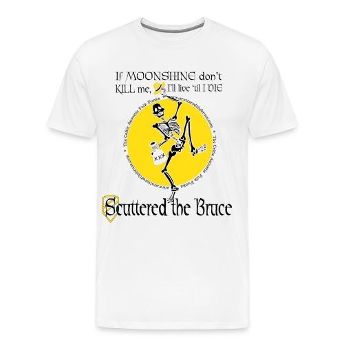 moonshineblackfontmediumrecolor - Men's Premium T-Shirt