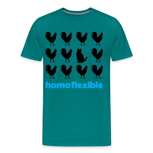 Homoflexible Male - Men's Premium T-Shirt