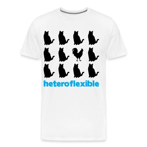 Heteroflexible Male - Men's Premium T-Shirt
