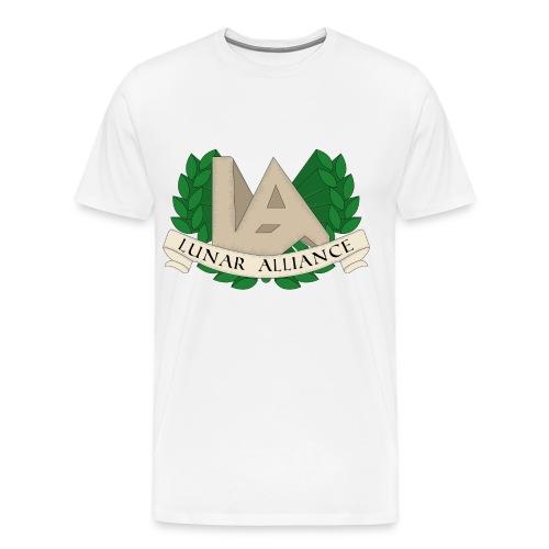 Lawer Krans LA png - Men's Premium T-Shirt