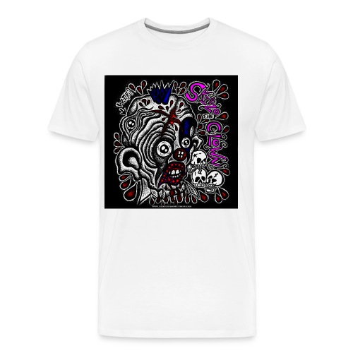 Skitzo The Clown - Men's Premium T-Shirt